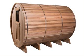 Fonteyn | Barrelsauna 7+3 ft. Grandview | Rustic 400261-31