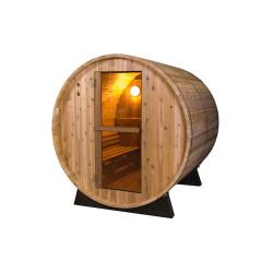 Saunafass - Fonteyn Rustikal 4 Ft. Außensauna