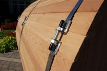 Barrel Sauna Buitensauna red cedar hout