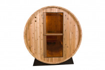 Barrel Sauna | Fonteyn Rustic 4 Ft. | Buitensauna | Red cedar Hout
